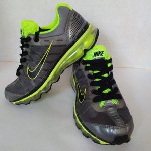 Nike Air Max 09 GREY Black SILVER VOLT 4.5Y 6 W